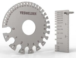 image of metal gauge