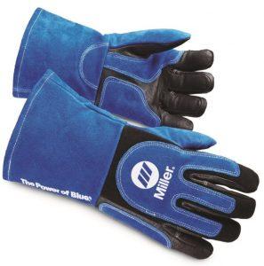 image of the miller welding gloves