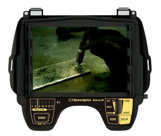 image of speedglas internal controls