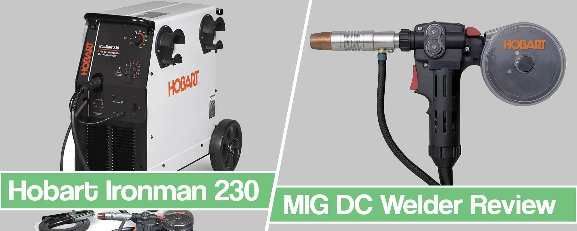 Feature image for Hobart Ironman 230 MIG Welder Review article