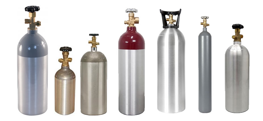 image of co2 tanks