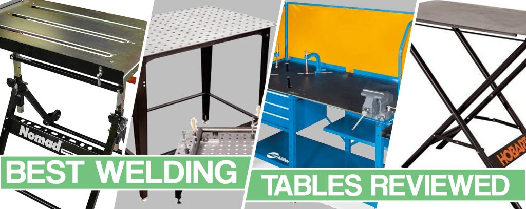 Feature image for Best Welding Table article
