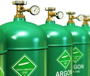 Argon bottle
