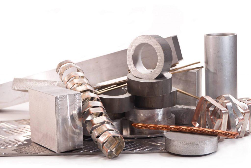 image of various nickel metal alloys