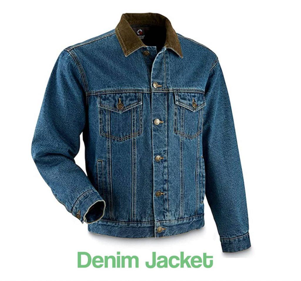 Image showing a denim jacket example