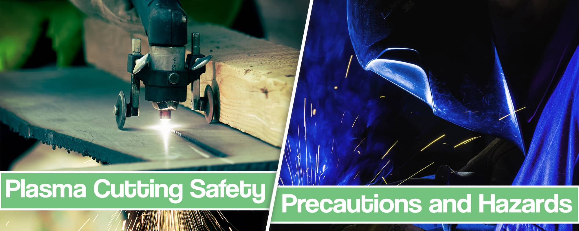 Feature image for Plasma cutting safety article