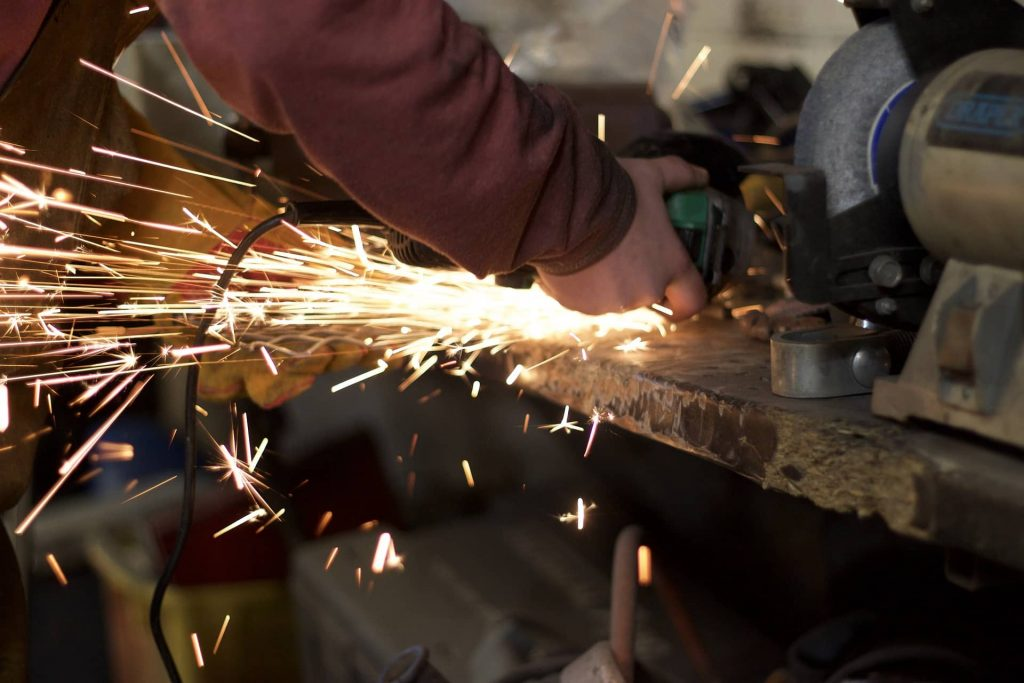 image of a worker braking safety rules