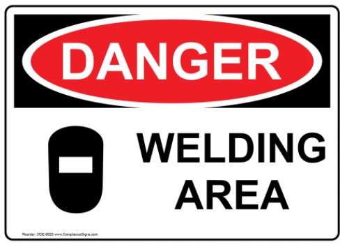 image of a welding sign