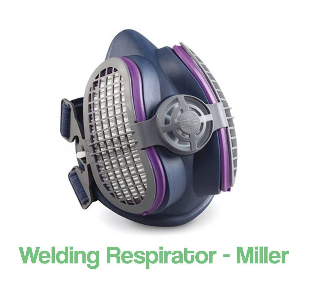 image of a welding respirator