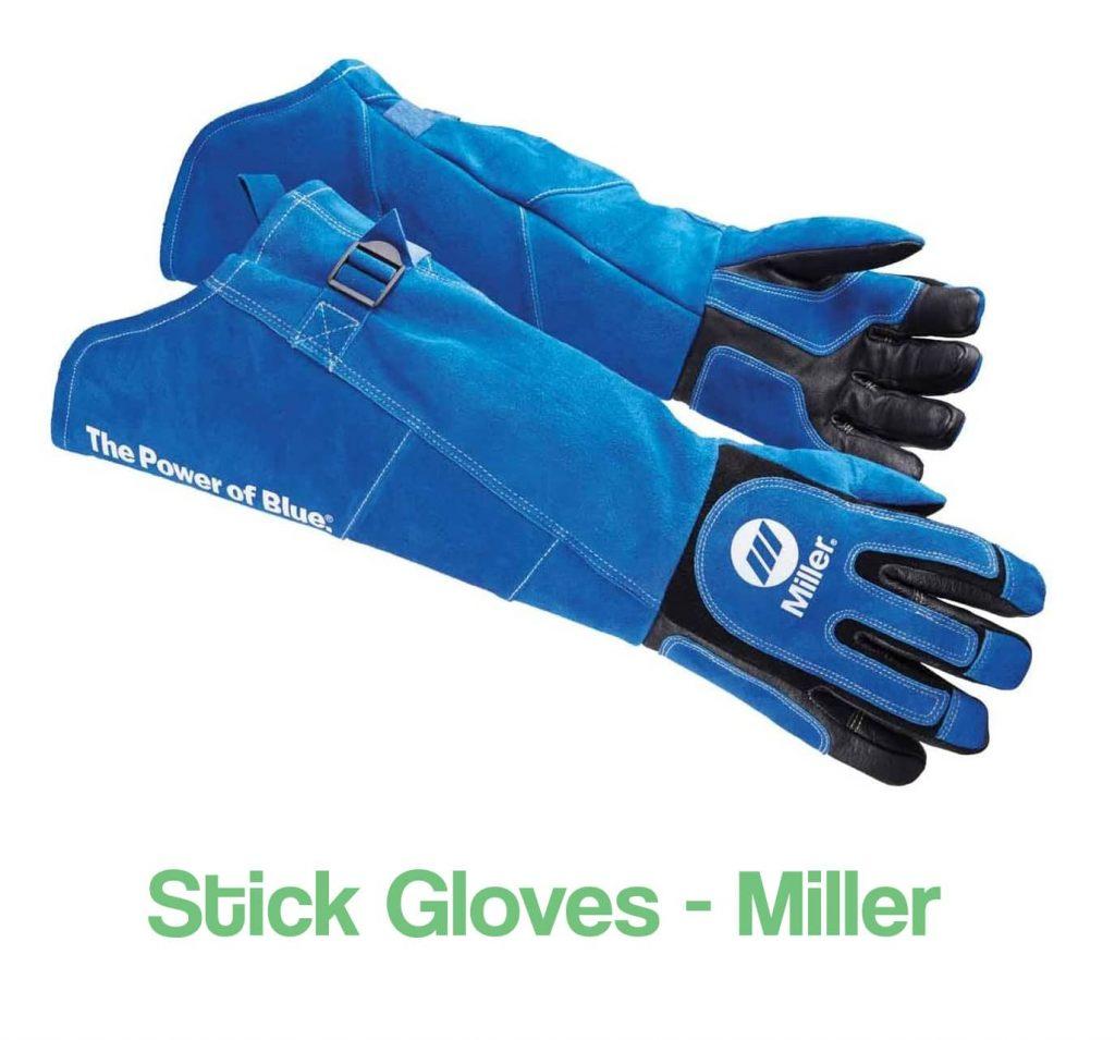 Image of stick heavy duty welding gloves