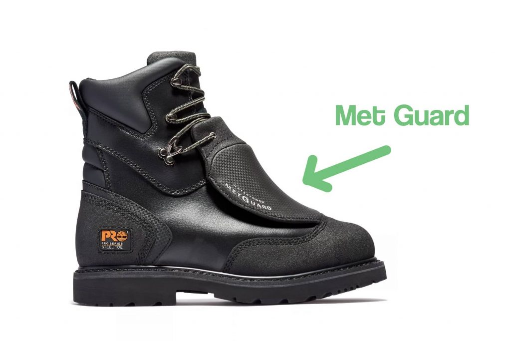 image of example of welding boots