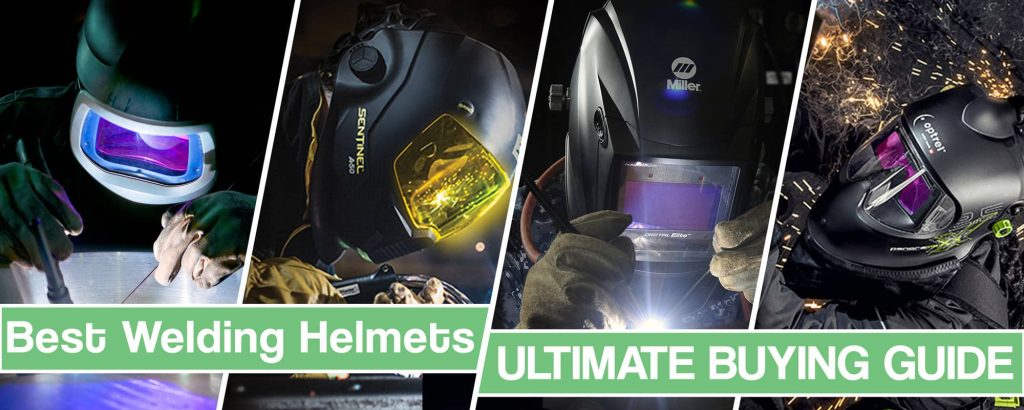 Feature image for best welding helmets article