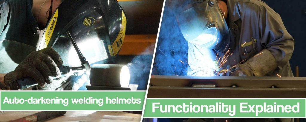 Feature Image for How do auto-darkening welding helmets work article