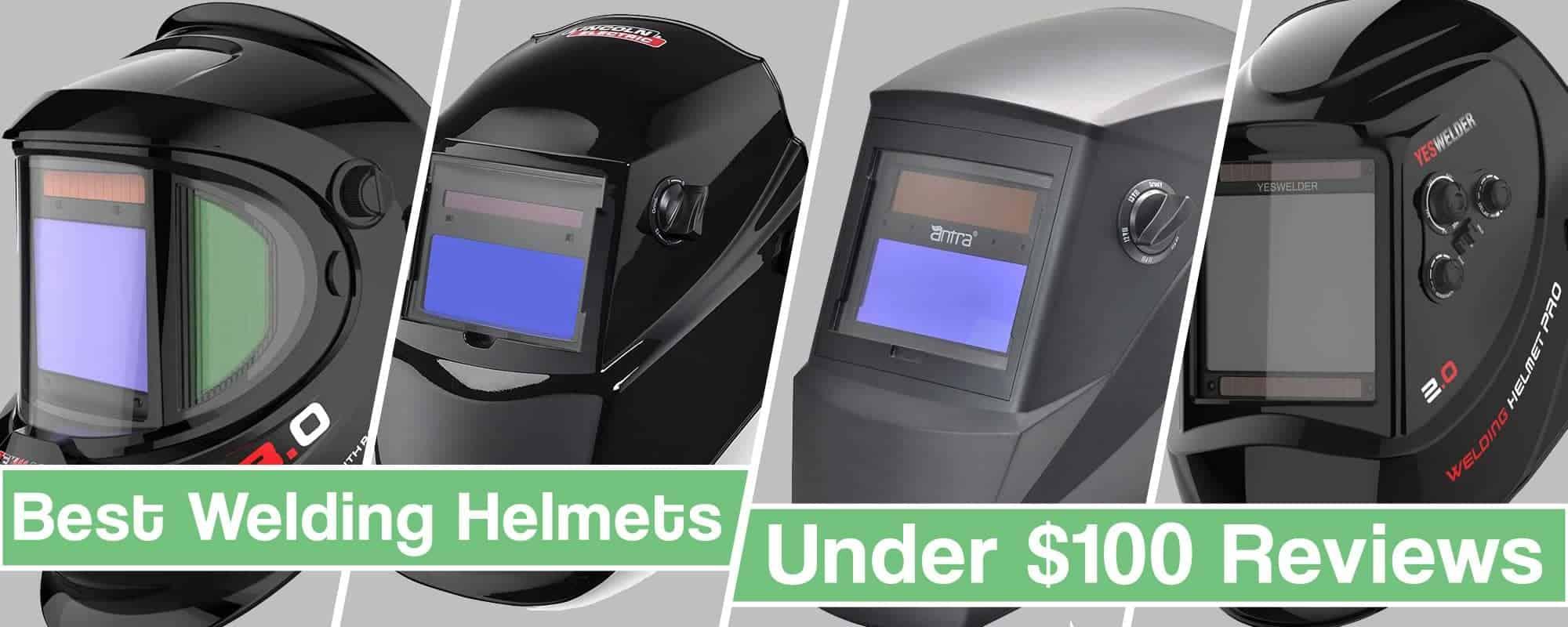 Featured image for the article Best welding helmet under 100 usd