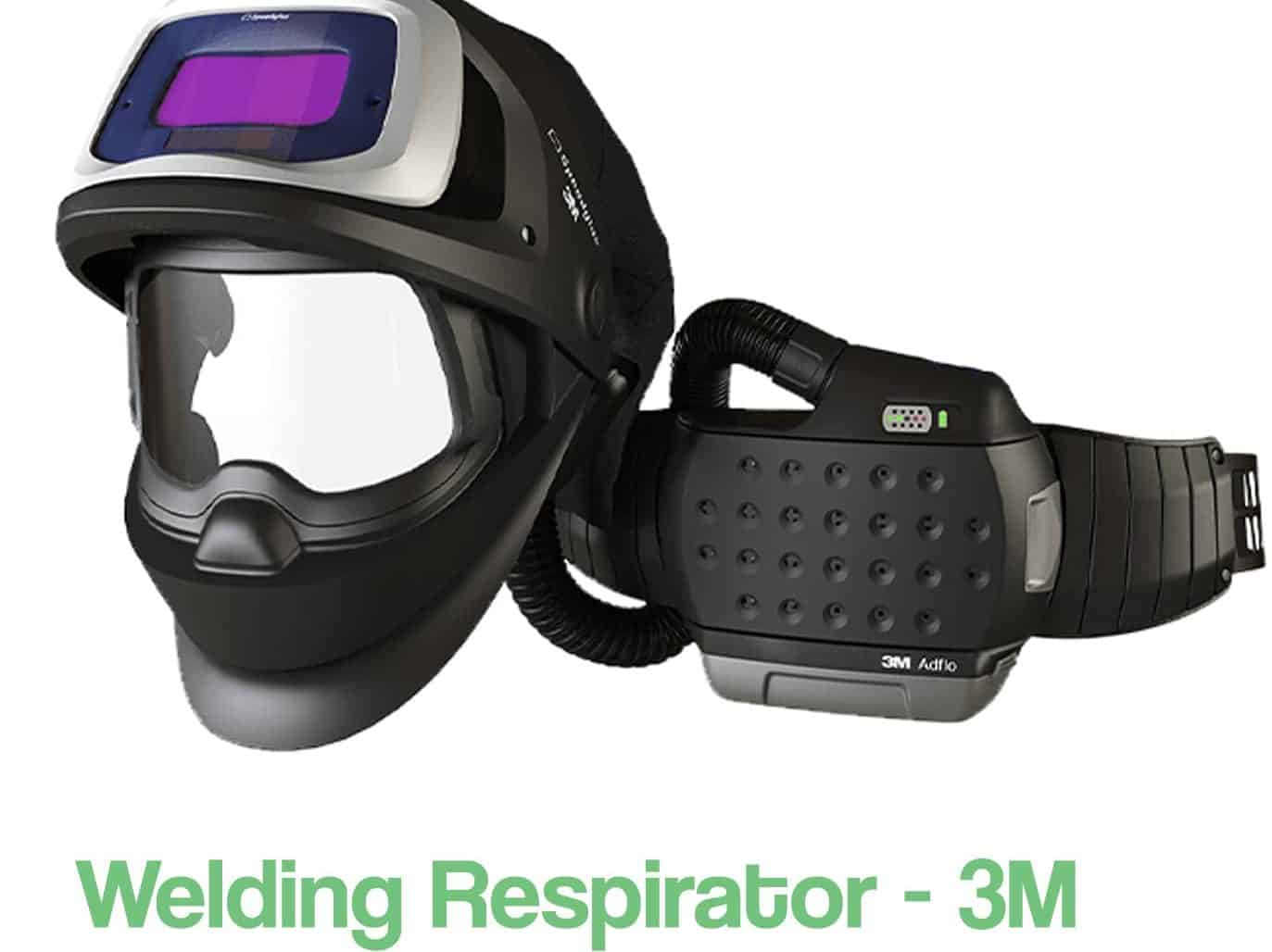 image of a powered welding respirator