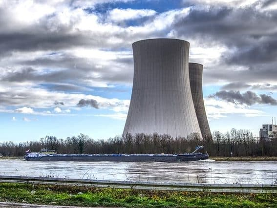 image of the nuclear power plant